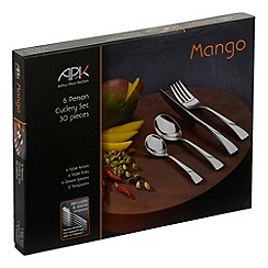 Arthur Price - Stainless steel 30 piece 'Mango' cutlery set
