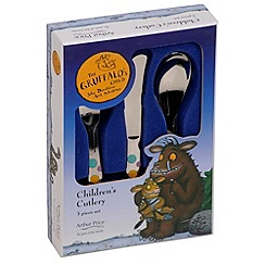 Arthur Price - 3 piece stainless steel 'Gruffalo' cutlery set