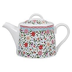 Queens - 'The Caravan Trail' Fowey teapot