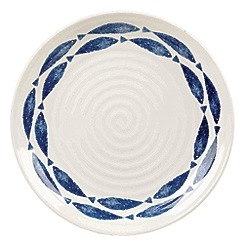 Queens - 'Sieni Fishie on a Dishie' 26cm dinner plate