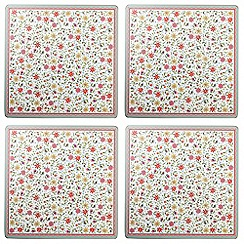 Queens - Set of four 'Caravan Trail Fowey' placemats