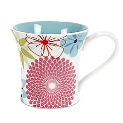 Portmeirion - Multicoloured 'Crazy Daisy' mug