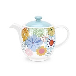 Portmeirion - Multicoloured 'Crazy Daisy' tea pot