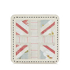 Home Collection - Set of six blue 'Union Jack' coasters
