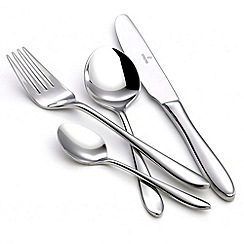 Viners - Stainless steel 'Eden' 44 piece cutlery set