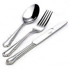 Viners - Stainless steel 'Dubarry' 44 piece cutlery set