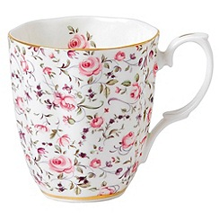 Royal Doulton - Royal Albert fine bone china cheeky pink mug