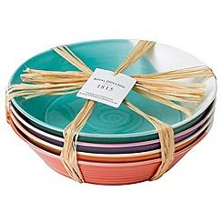 Royal Doulton - Set of four porcelain '1815' pasta bowls