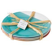 Set of four porcelain '1815' dinner plates
