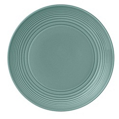 Royal Doulton - Aqua 'Maze' ripple 22cm salad bowl