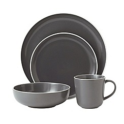 Gordon Ramsay By Royal Doulton - Gordon Ramsay By Royal Doulton - Dark grey 'Bread Street' range