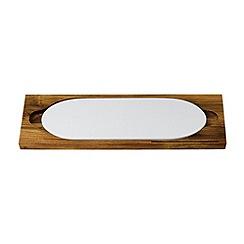 Royal Doulton - Wood 'Bread Street' board and cheese slab