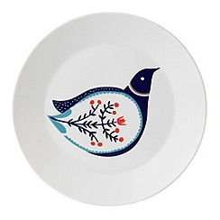Royal Doulton - 'Fable' blue bird print side plate