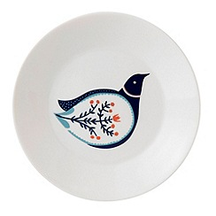 Royal Doulton - Fine china 'Fable' blue tree tea plate