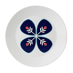 Royal Doulton - Fine china 'Fable' blue flower side plate