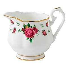 Royal Albert - Fine Bone China Rose cream jug