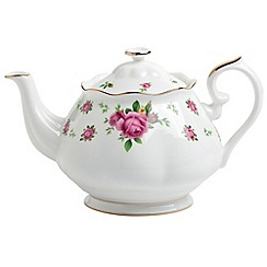 Royal Albert - Fine Bone China Rose teapot