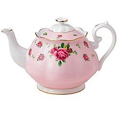 Royal Albert - Fine Bone China Pink rose teapot
