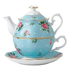Royal Albert - Polka blue tea for one