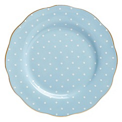 Royal Albert - Fine Bone China Blue spotted plate