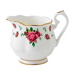 Royal Albert - Royal Doulton country rose pink creamer