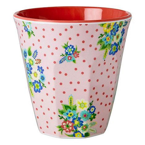 Rice - Vintage flower print cup