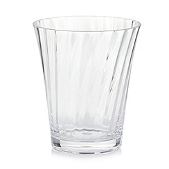 Debenhams - Plastic optic tumbler