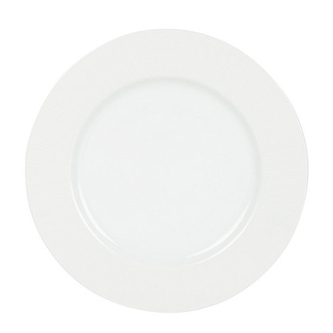 Betty Jackson.Black - Designer porcelain +Radiance+ dinner plate