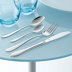 Amefa - Stainless steel 'Dine Sure' 18 piece cutlery set
