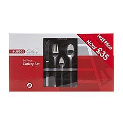 Judge - Stainless steel 'Beamaris' 24 piece cutlery set