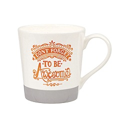 Queens - Chasing Rainbows, Don't Forget To Be Awesome Mug