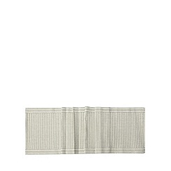 RJR.John Rocha - Designer grey cotton ribbed runner