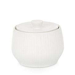RJR.John Rocha - Designer stoneware 'Radial' sugar bowl