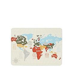 Ben de Lisi Home - Designer set of four map of the world place mats