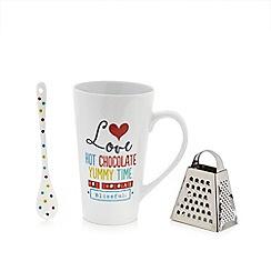 Ben de Lisi Home - Hot chocolate 3 piece gift set