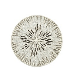 Star by Julien Macdonald - Designer silver beaded placemat