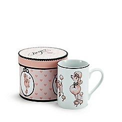 Debenhams - Pink poodle mug gift box