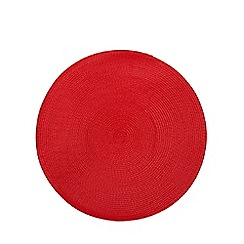 Home Collection Basics - Red woven placemat