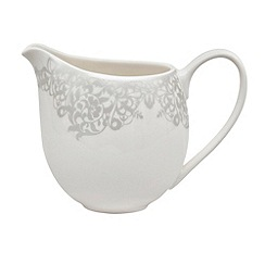Denby - 'Monsoon Filigree Silver' small jug
