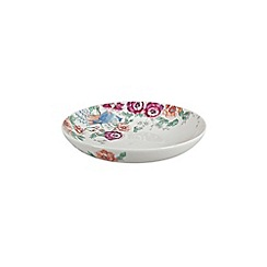Denby - Cream floral print 'Monsoon Kyoto' pasta bowl