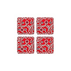 Denby - Monsoon Bettie set of 4 coasters