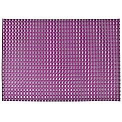 Denby - Purple woven placemat