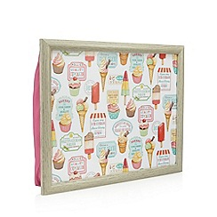 Creative Tops - White lolly lap tray
