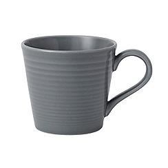 Gordon Ramsay By Royal Doulton - Maze dark grey mug 16oz