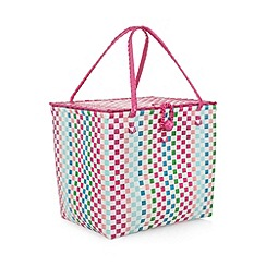 Butterfly Home by Matthew Williamson - Designer pink weave hamper