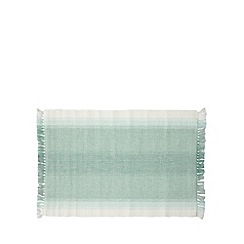 Debenhams - Set of two green gradient placemats