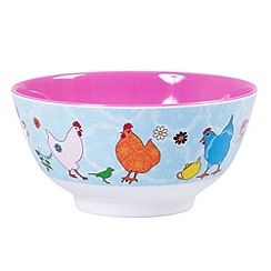 Rice - Cereal bowl with hen print