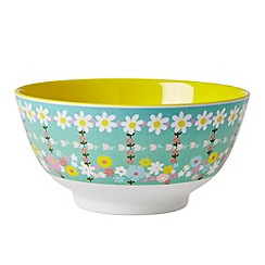 Rice - Cereal bowl with retro print