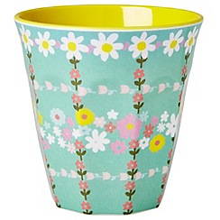 Rice - Tumblers with pretty flower lid