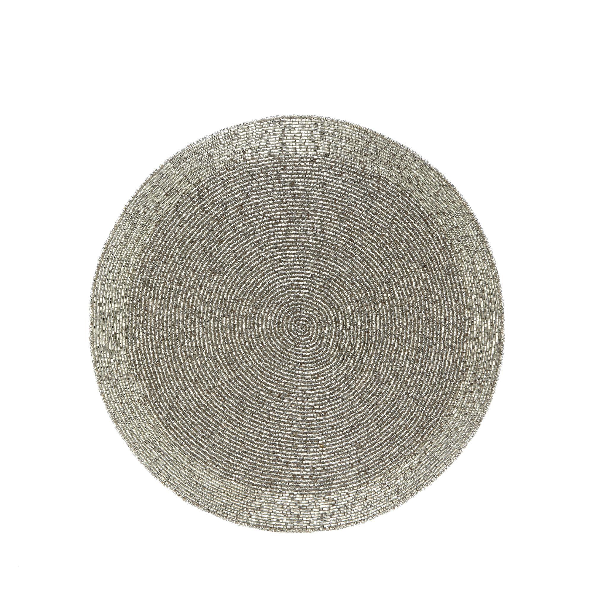 debenhams silver beaded placemat from debenhams